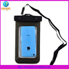 Swimming protector pvc waterproof bag for iphone waterproof bag for s5