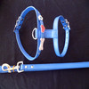 2014 new style fashion rhinestone pet dog leash and harness