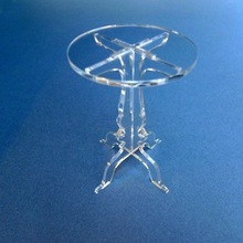 Clear Detachable Acrylic Cupcake Stand Mini Lucite Cake Display Stand