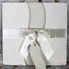 laser cut pure white paper wedding invitation cards 2014 Simple elegant