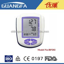 Home/Family device Wrist Digital Blood Pressure Monitor/ basal Sphygmomanometer BP202