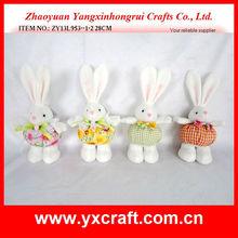 Easter bunny ZY13L953--1-2 28CM easter handmade paper bag