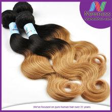 ombre color unprocessed 5a body wavy loose deep unprocessed dream virgin hair