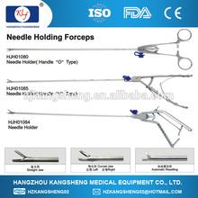 China laparosopic operation, Needle Holder (type-V, curved head)