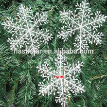 Cheap Christmas Plastic Snowflake Ornament
