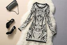 new material ladies sweater dress 2011
