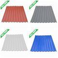de color de plástico corrugado para techos de hoja