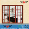 JK-AW9156 new design 3 panel sliding glass door