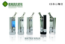 Newest! 2014 Green Sound cool Design ninja Variable Voltage e cig bottom with LED light