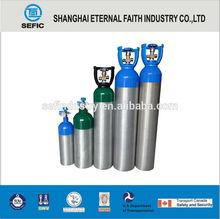 10L High Pressure Aluminum Oxygen Bottle Gas Bottle