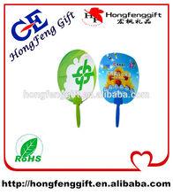 Zhongshan OME factory small hand fans / hand fan / plastic pp fan
