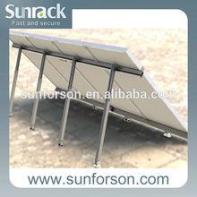 Adjustable solar mounting bracket for home roof