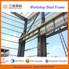 Prefabricated steel structure factory for heavy load workshop