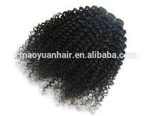 kinky curly hair meche