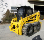 hot sale China Bobcat CE 125HP Track skid steer loader Yammr Engine