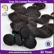 fast delivery SGS&BV double weft unprocessed remy virgin premium too body wave