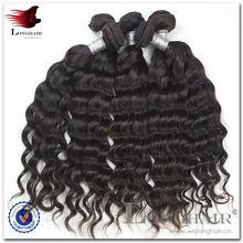 Natural Color Unprocessed Brazilian Ebony Hair