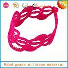 custom silicone bracelet , diy loom bands for girls/children