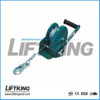 hand winch with brake , pulling capacity 800lbs , 1200lbs , 1800lbs , 2600lbs