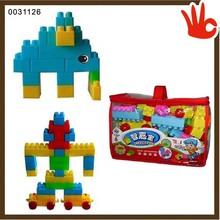 Superb quality abs building blocks 3d building block safe education foam building blocks for kids toys