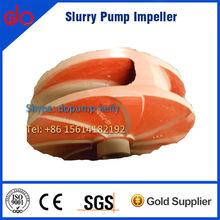 Slurry mining centrifugal pump impeller