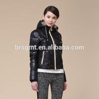 2014 Winter Jacket new design down coat with hood China Garment black light down jacket/women jacket/down sports coat