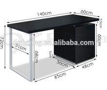 MDF laptop computer lap desk with light white computer desks