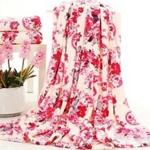 2014 Xinbo Coral Fleece Blanket Printing Fabric