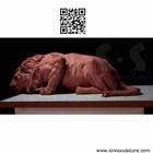 Large bronze lion,cast brass lion sculpture, bronze lions statue ,bronze foundry beijing