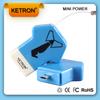 Mini handphone charger universal 300mah car model bmw power bank