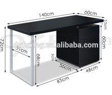 Easy installation floor sitting computer desk custom computer desk