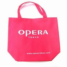 Non Woven Laundry Bag with One Color Logo Silk Screen Printing