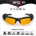 Vídeo óculos de sol/câmera óculos de sol/mp3 bluetooth óculos de sol/fábrica na china