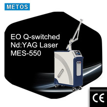 1064/532nm Active Q switch nd yag laser with big spot size