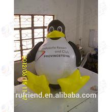 Custom promotion inflatable penguin model