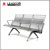 Leadcom burshed stainless steel 3 seater waiting area bench seating (LS-530B)