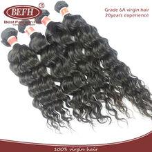 Grade AAAAAA natural color love water wave 100% human peruvian virgin hair