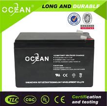 Hot selling maintenance free small size solar panel/ups 12v 20ah deep cycle battery