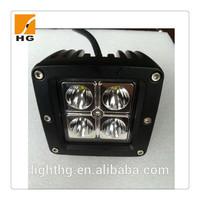 3inch 12w car led driving light cube led working light 12watt for 4x4 nissan navara