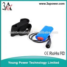 li-ion battery packs 8.4v 4800mah for mtb Bicycle lamp battery pack SSC P7/CREE XM-L T6