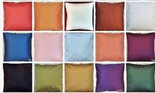 Plain dupioni silk cushion cover decorative Indian pillow case12 16 18 2024