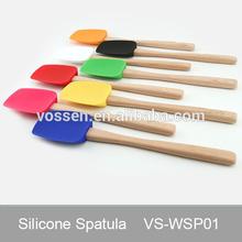Colorful silicone spatula