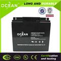 Professional manufacturer ABS casing sealed lead acid battery 12v 7.2ah