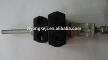 Alimentador abrazadera para cable óptico