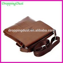 DJB032 soft brown leather camera leather messenger bags for men