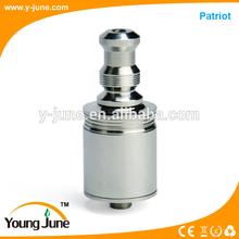 2014 YoungJune hot selling stainless steel rda atomizer rebuildable kayfun,patriot/3d atomizer clone