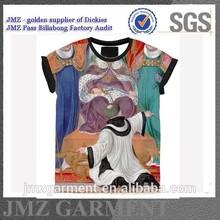 religion print t-shirt brand t-shirt OEM manufacture supplier