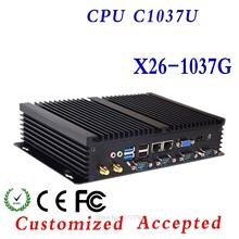 cloud terminal pc station smallest computer thin client wifi X26-1037G 1.8G HZ run Linux/Ubuntu/window 7 Hot on sale