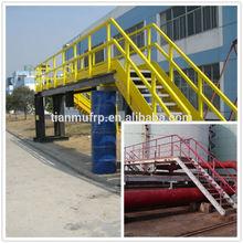 FRP platform for off-shore oil rig