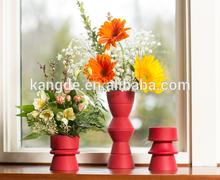 Folding Silicone Flower Vases,Eco-friendly Plant Pot,Functional Flowerpot